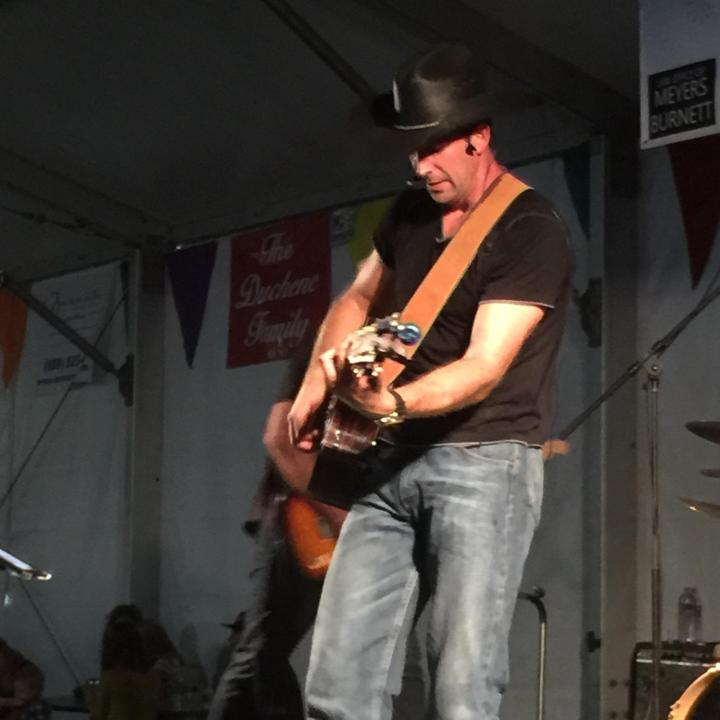 Live country music at Sts. Simon & Jude Fall Festival, Huntington Beach, CA